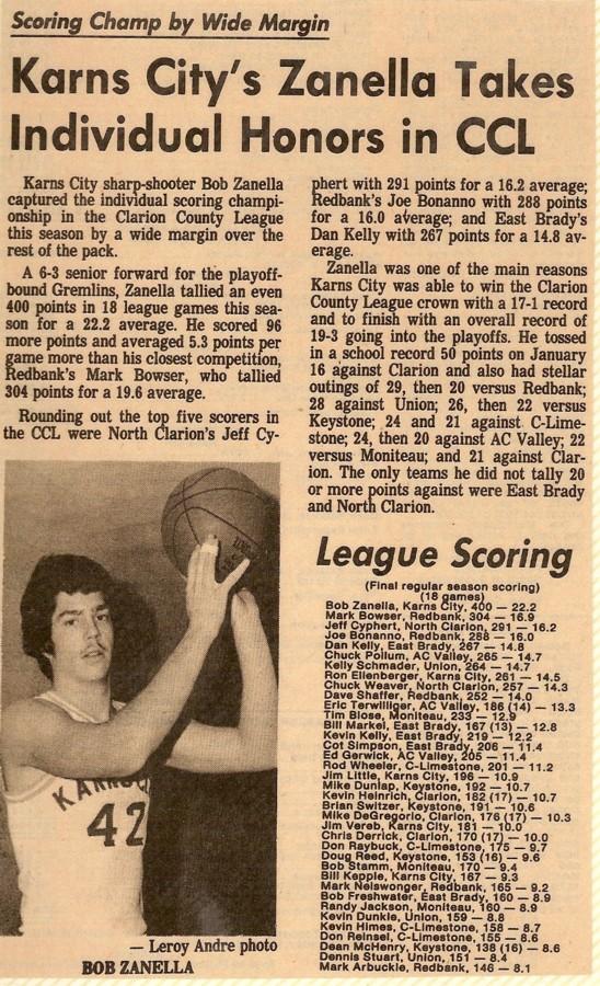 Individual High Scoring Efforts In Basketball History